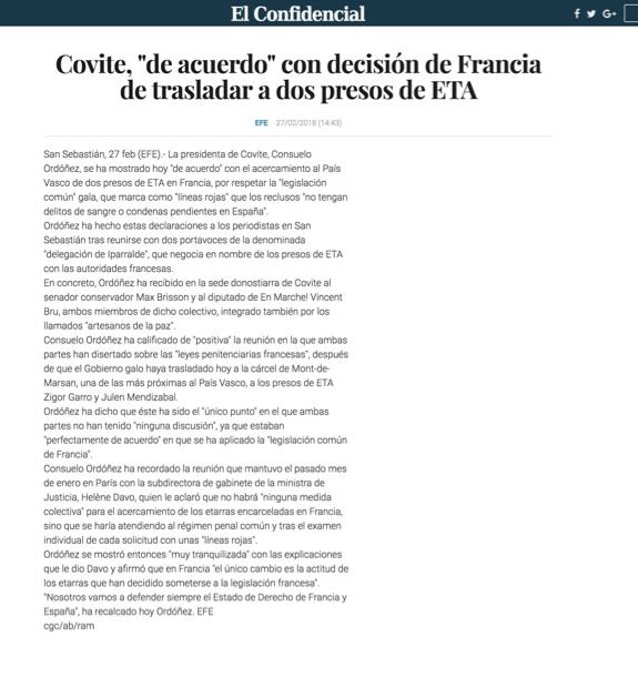 COVITE EL CONFIDENCIAL
