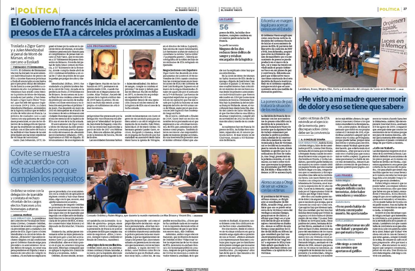 Diario Vasco COVITE
