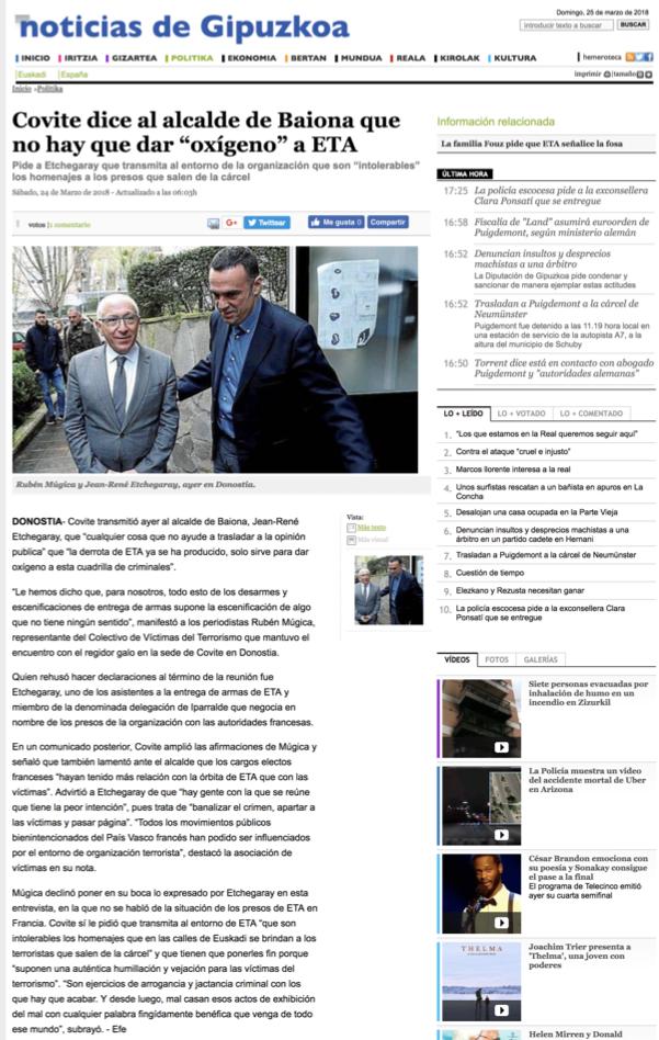 COVITE NOTICIAS DE GIPUZKOA