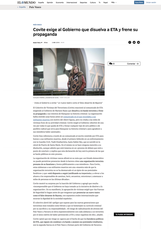 COVITE EL MUNDO WEB