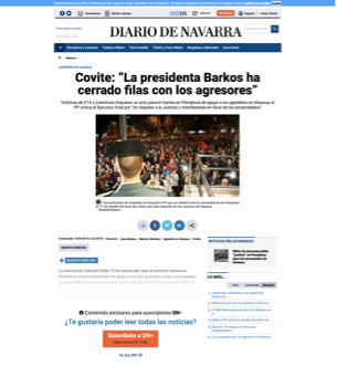 DIARIO DE NAVARRA WEB
