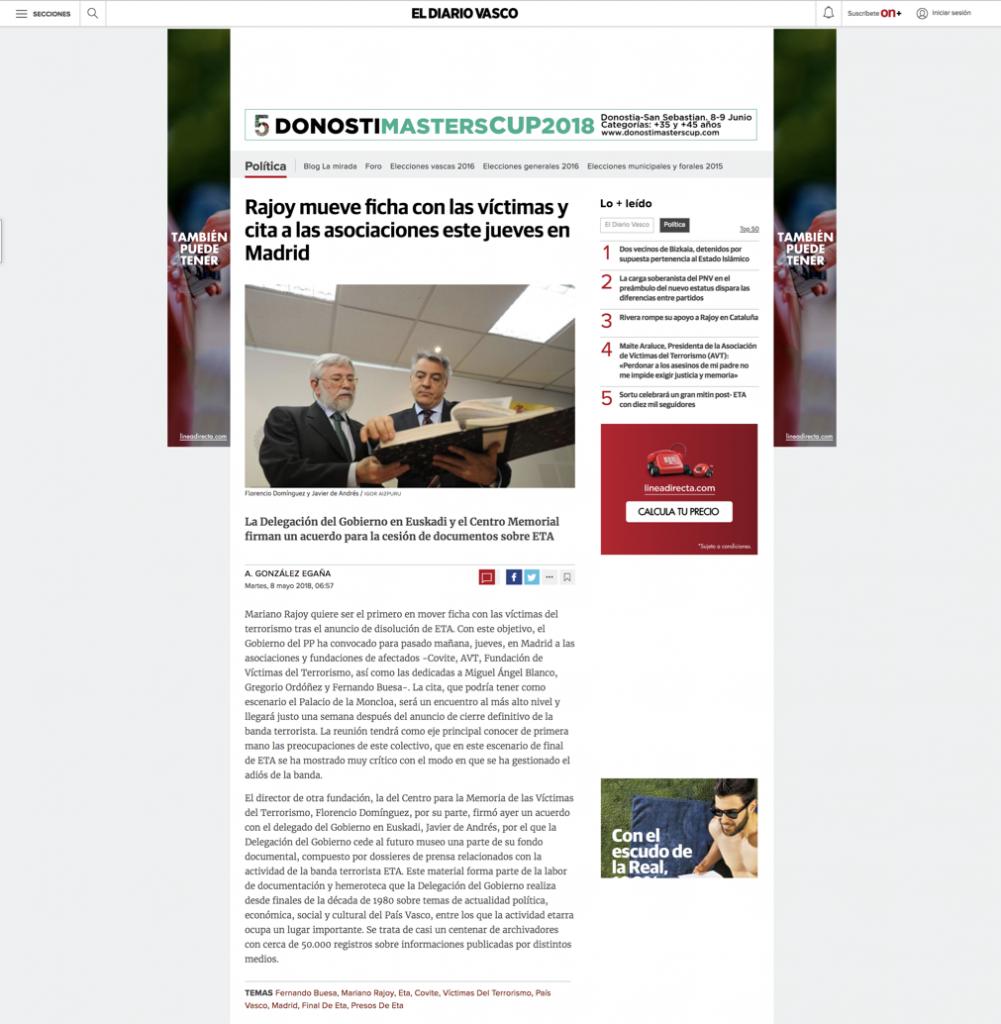 EL DIARIO VASCO WEB