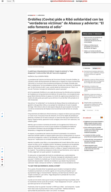 EUROPA PRESS COVITE