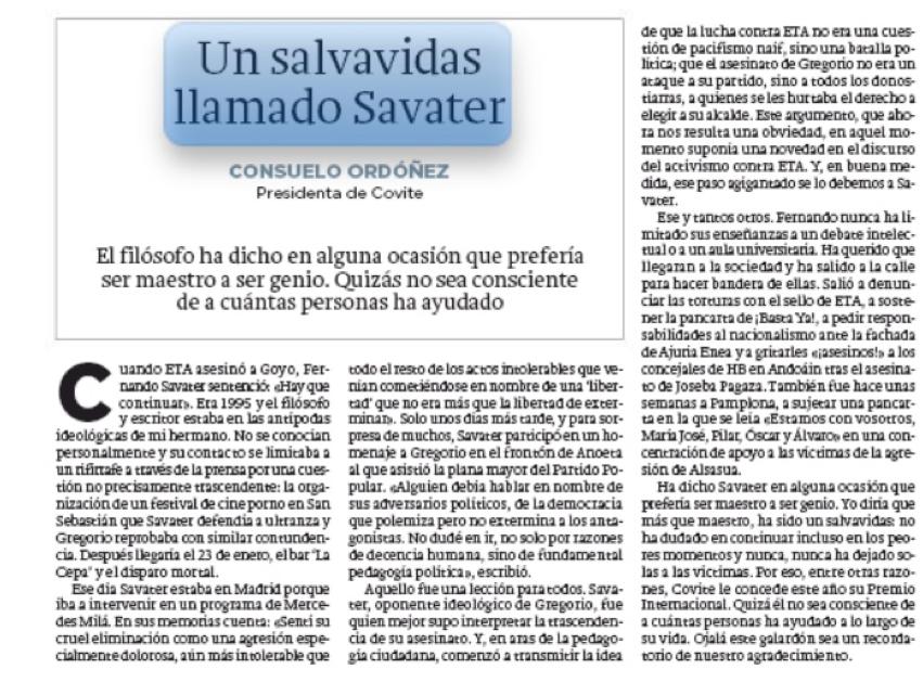 Salvavidas Savater